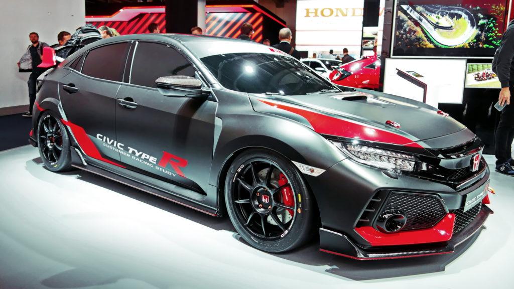 Honda Civic competitie Gratiela Vlad